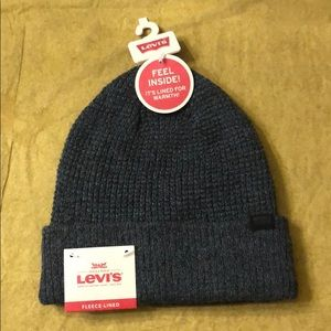 NWT Levi's Fleece-Lined Hat